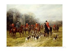 The Meet Giclee Print by Heywood Hardy at AllPosters.com