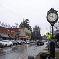 Main street Weaverville, NC my home town.