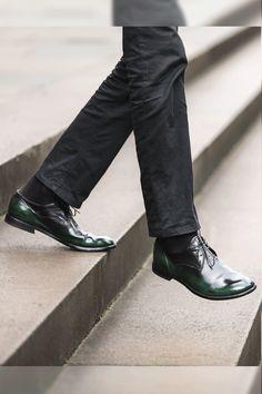 124 Shoes Streetstyle #Shopafar #streetstyle #124shoes #guidi #sartorigold #jaylim #melbourne #ink #Officine Creative