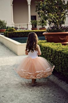 Flower Girl Princess Tutu Dress with hand by ReturnToEdenStore, $200.00
