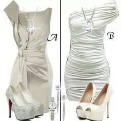 Very nice dresses and shoes