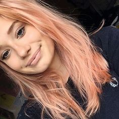 "The name comes from the blood orange, a type of orange that has a unique red-tinted orange color. | 16 Pics That Prove That ""Blorange"" Hair Is Exactly What You Need In 2017"