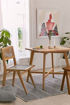 Marte Dining Table   Urban Outfitters