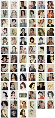 Le polaroids di Warhol