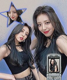 Retro Aesthetic, Kpop Aesthetic, Cool Girl, My Girl, Banners, Icons Girls, Picsart Edits, Kpop Posters, Cybergoth
