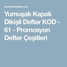 Yumuşak Kapak Dikişli Defter KOD - 61 - Promosyon Defter Çeşitleri