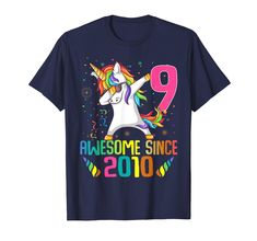 Check this 8 Years Old Birthday Unicorn Dabbing Shirt Girl Party-Yolotee . Hight quality products with perfect design is available in a spectrum of colors and sizes, and many different types of shirts! 14th Birthday, Unicorn Birthday Parties, Girl Birthday, Unicorn Party, Birthday Ideas, October Birthday, Happy Birthday, 8 Year Old Girl, Unicorn Shirt
