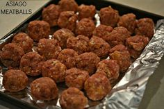 Asiago Meatballs@