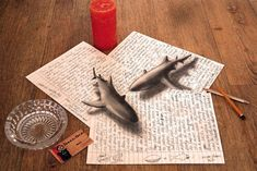 New 3D Optical Illusion Drawings by Ramon Bruin - My Modern Met