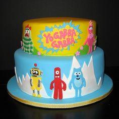 yo gabba gabba birthday-party-ideas by valarie