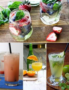 Pregnancy: Amazing non alcoholic tasty cocktails. Toast the Mom-to-Be With These Tasty Mocktails