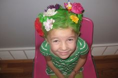 """crazy hair day ideas for girls 