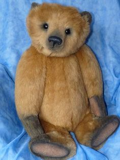 Marmalade Stunning & Large OOAK Bear by By Bisson Bears | Bear Pile