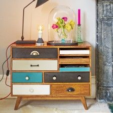Fresh Design Furniture: Darwin chest of drawers Funky Furniture, Upcycled Furniture, Shabby Chic Furniture, Furniture Makeover, Vintage Furniture, Furniture Projects, Painted Furniture, Furniture Design, Furniture Online