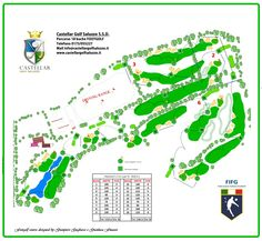 Percorso di gara #footgolf dello splendido e impegnativo 18 buche del Golf Club…