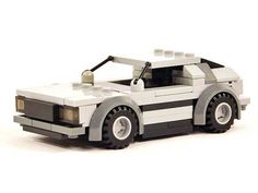 Delorean DMC-12 (With Building Instructions): A LEGO® creation by Geoffrey Welch : MOCpages.com