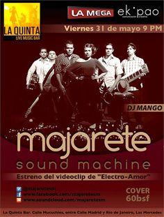"Cresta Metálica Producciones » Majarete SoundMachine presenta ""Electro-amor""!!!"