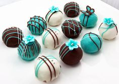 Tiffany #Blue #cake balls