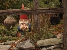 She loved her gnomes