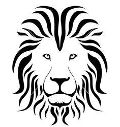 lion shilouette clipart | Lion silhouette vector