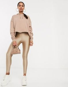 Buy ASOS DESIGN co-ord disco legging at ASOS. With free delivery and return options (Ts&Cs apply), online shopping has never been so easy. Get the latest trends with ASOS now. How To Roll Sleeves, Boyfriend T Shirt, Leggings Fashion, Fashion Online, Latest Trends, Asos, Casual Outfits, Womens Fashion, Fashion Trends