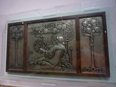 Scottish Arts & Crafts Hammered Silver
