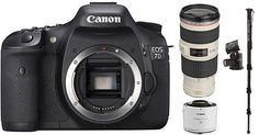 Canon 7D sports action photography kit/  DSLR best rated for sports