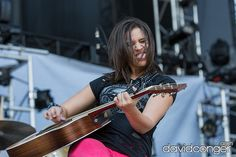 Rachel Farley at The Gorge Amphitheatre. #Watershed #Festival #Country #Music