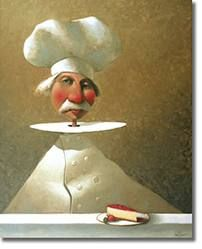"""Good food is the foundation of genuine happiness.""""  ― Auguste Escoffier"""