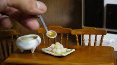 Mini Mitarashi Dango - mochi with a sweet soy glaze