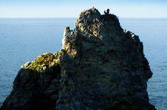 Playa del Castiellu. Pendueles. Concejo de Llanes. Principado de Asturias. Spain.    [By Valentin Enrique].