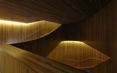 Oslo Operahouse, building, Norway - design by Snøhetta Architects - Norwegian architecture: Oslo Operahouse photos Cabana, Architecture Details, Interior Architecture, Piscina Do Hotel, Oslo Opera House, Norway Design, Built In Furniture, Wooden Stairs, Interior Stairs