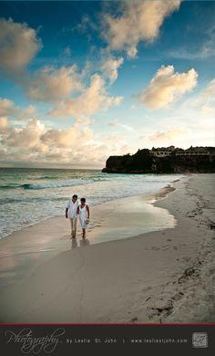 The Best Wedding Beaches In Barbados... Crane Beach    www.lesliestjohn.com