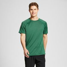 Men's Tech T-Shirt Salamander Green Xxl - C9 Champion