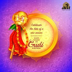 Raise the Gudi, fold your hands and pray to God for the well-being of your folks and mankind. Hope you have a Happy Gudi Padwa. #Adachikan #Chikankari #Happygudipadwa #chikan #Lakhnavi #shoponline #worldwidedelivery