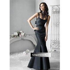 Designer Black Mermaid Mother of Bride Evening Special Occasion Dresses SKU-1040140