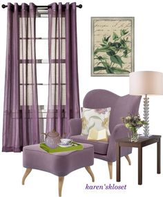 """""""plumb accent chair"""" by karenskloset on Polyvore"""
