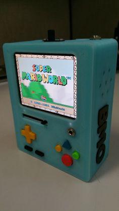 BMO emulador de Super Nintendo, de verdade!! | Nerd Da Hora