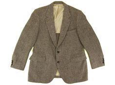 Blazer Vintage Harris Tweed vente en taille par IvyVintageCompany, $56.00