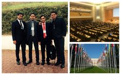 The #Winjit force doing to their bit with @unisdr at #Geneva World Conference On Disaster Risk Reduction, Prepcom 2 credit to our visionary founder  Abhijit Junagade