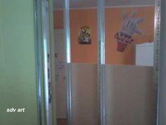 χώρισμα από γυψοσανίδα σε παιδικό δωμάτιο