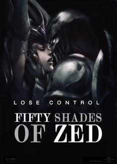 I think Zed finally found a hidden scroll #zed #syndra #lol