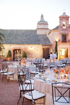 Magnificent Spanish wedding at Hacienda Molinillos, Seville, Spain. via Truly and Madly