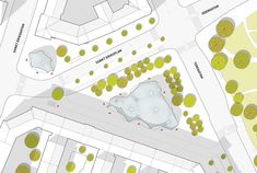 S:t Eriks inomhuspark – Parkens entréer och passager blir generösa, välkomnande och kopplas tydligt till omgivande rörelsestråk för fotgängare.
