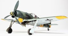 Fw 190 A-5 flown by Oblt. Walter Nowotny, Staffelkapitän of 1./JG 54, Russia, summer 1943. After some filling and re-scribing the first major job undertaken was to add the rivet detail. This was ac…