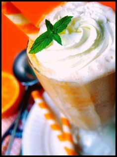 Orange Cream Floats #recipe by wonderful911
