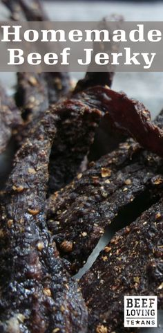 Beef jerky is tasty, full of protein and a healthy snack. Did you know it's easy to make at home? Check out our recipe for easy homemade beef jerky!
