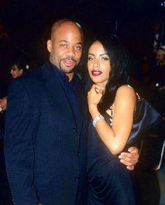 Aaliyah and Damon Dash ♡