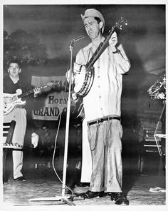 "Member-David ""Stringbean"" Akeman-live on the Opry"