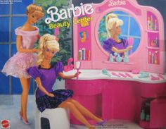 Barbie Beauty Center Playset (1991 Arco Toys, Mattel) by Arco Toys, Mattel. $149.99